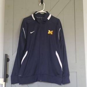 Nike Dri-Fit Full Zip Michigan Jacket
